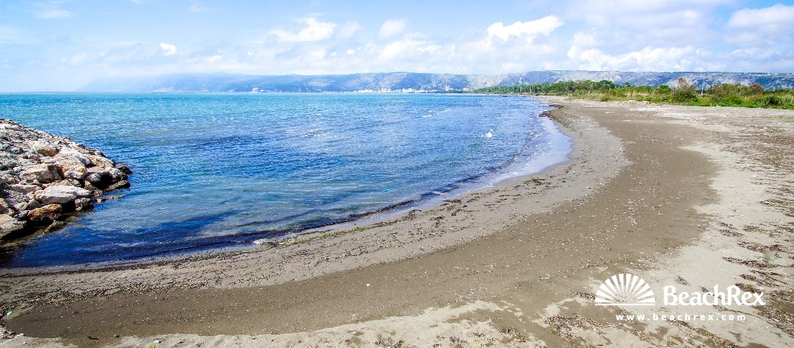 Albania - Lezhë -  Stomi i Madh - Plazhi Kunë
