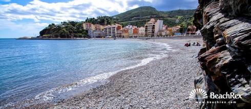 Španjolska - Comarques gironines -  Portbou - Plaža Portbou