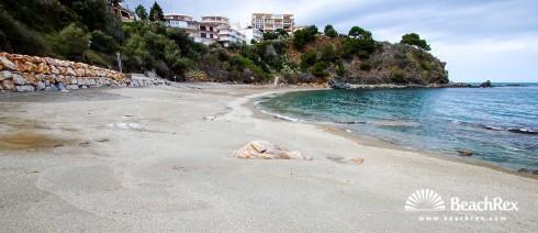 Spain - Comarques gironines -  Llanca - Beach Cau del Llop