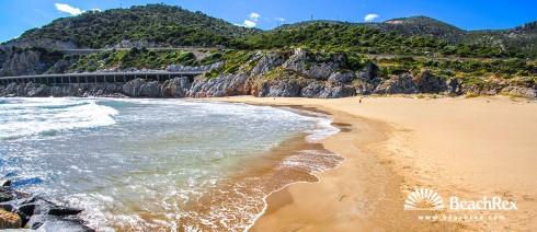 Spain - Àmbit metropolità -  Sitges - Beach de la Ginesta