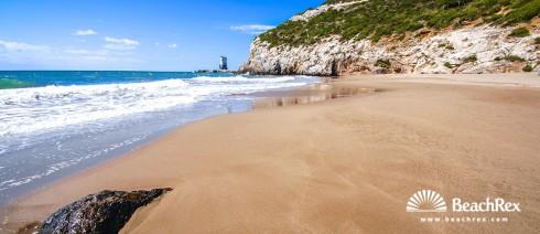 Spain - Àmbit metropolità -  Sitges - Beach de cala Morisca