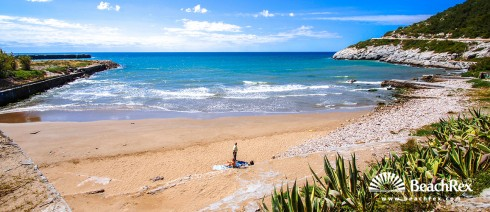 Spain - Àmbit metropolità -  Sitges - Beach Vallcarca