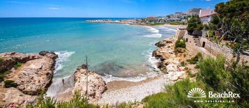 Spain - Àmbit metropolità -  Sitges - Beach la Caleta