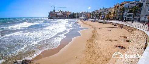 Spain - Àmbit metropolità -  Sitges - Beach Sant Sebastia