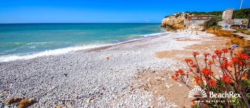 Spain - Àmbit metropolità -  Sitges - Beach Les Coves