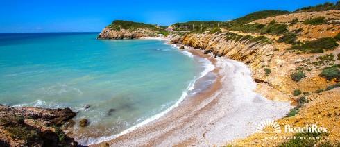 Spain - Àmbit metropolità -  Sitges - Beach L'Home mort
