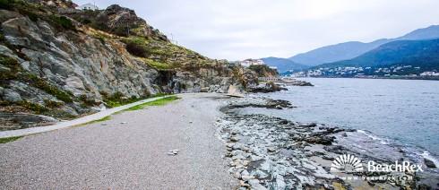 Spain - Comarques gironines -  El Port de la Selva - Beach Creu
