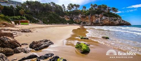 espagne - Camp de Tarragona -  Salou - Plage Crancs