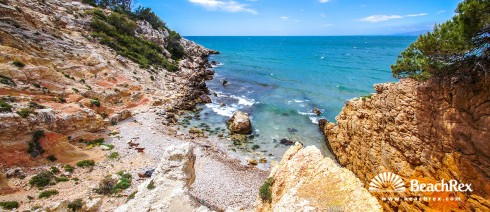 espagne - Camp de Tarragona -  Salou - Plage de la Costa
