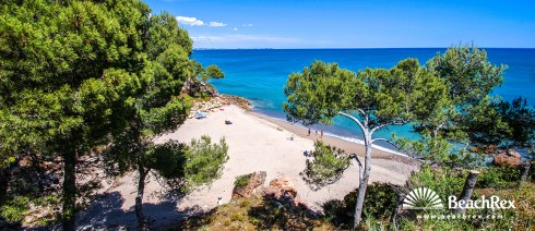Spain - Camp de Tarragona -  Miami platja - Beach Dels Vienesos