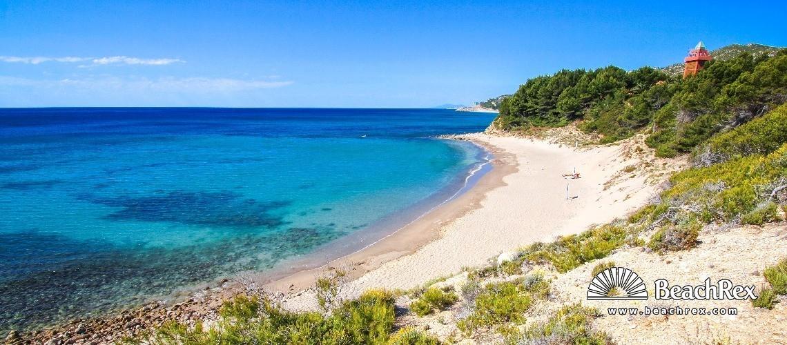 Spain - Camp de Tarragona -  L'Hospitalet de l'Infant - Platja de Cala d'Oques
