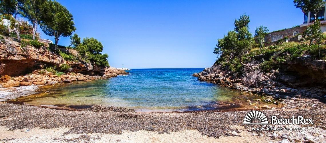 Spain - Camp de Tarragona -  Calafat - Platja Cala Llobeta