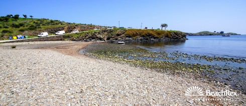 Spain - Comarques gironines -  Cadaqués - Beach Portlligat