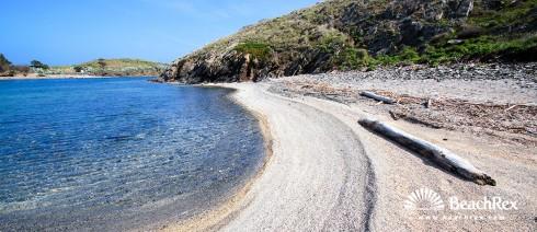 Spain - Comarques gironines -  Cadaqués - Beach Boquelles