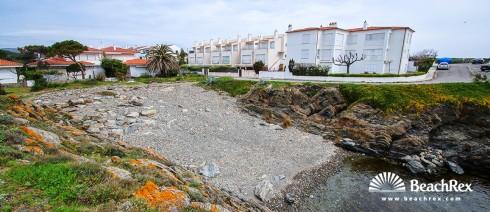 Spain - Comarques gironines -  Cadaqués - Beach Racó d'en Sanés