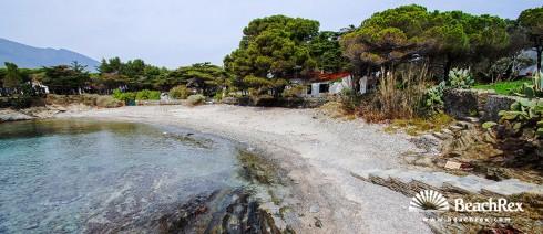 Spain - Comarques gironines -  Cadaqués - Beach d'en Pere Fet