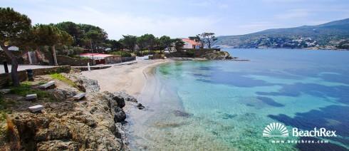 Spain - Comarques gironines -  Cadaqués - Beach Ros