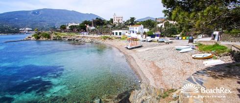 Spain - Comarques gironines -  Cadaqués - Beach Ses Oliveres