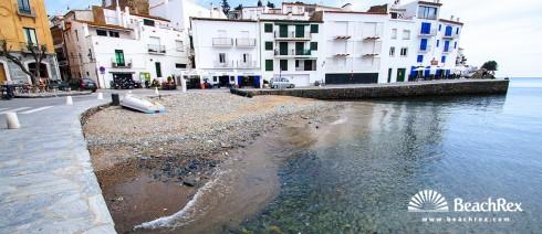 Spain - Comarques gironines -  Cadaqués - Beach es Poal