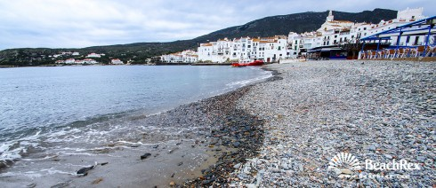 Spain - Comarques gironines -  Cadaqués - Beach Gran y Esportal