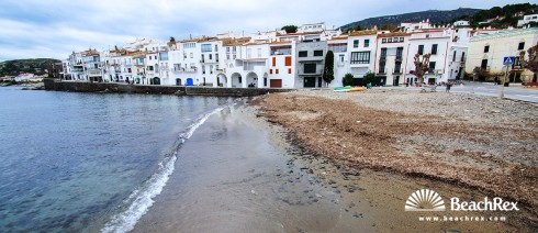 Spain - Comarques gironines -  Cadaqués - Beach Port d'Alguer
