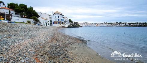 Spain - Comarques gironines -  Cadaqués - Beach Llané Gran