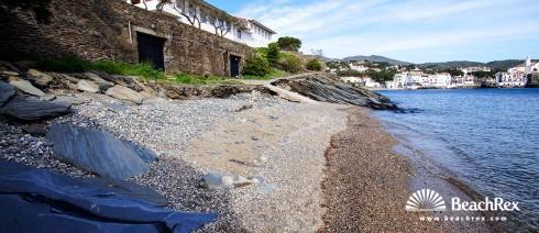 Spain - Comarques gironines -  Cadaqués - Beach de Sa Jorneta
