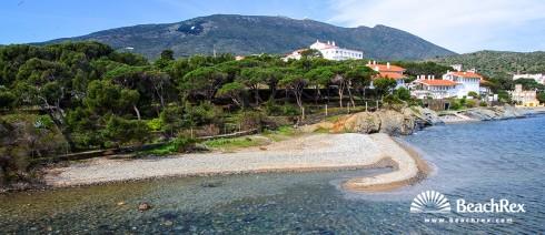 Spain - Comarques gironines -  Cadaqués - Beach es Sortell