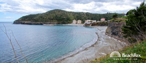 Spain - Comarques gironines -  Colera - Beach del Morts