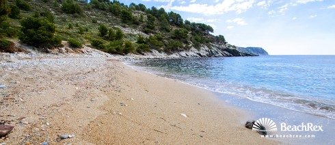 espagne - Comarques gironines -  Roses - Plage Murtra