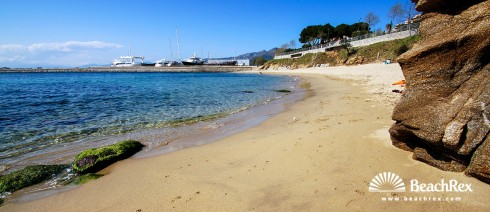 espagne - Comarques gironines -  Roses - Plage dels Palangrers