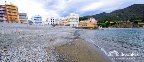 Spain - Comarques gironines -  Colera - Beach les Portes