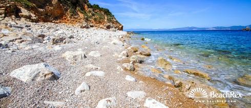 Spain - Comarques gironines -  L'Escala - Beach del Salpatx
