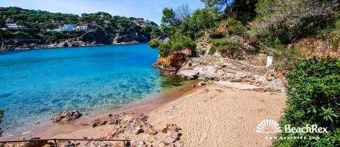 Spain - Comarques gironines -  Begur - Beach S'Antiga