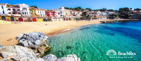 Spain - Comarques gironines -  Palafrugell - Beach de Canadell