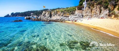 Spain - Comarques gironines -  Palafrugell - Beach d'en Calau