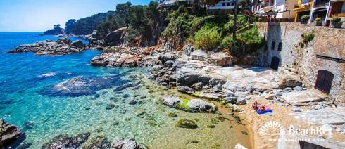 Spain - Comarques gironines -  Palafrugell - Beach En Calan