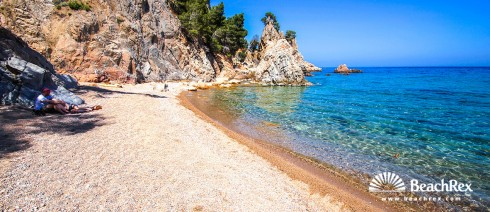 Spain - Comarques gironines -  Palafrugell - Beach del Golfet