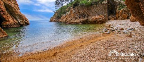 Spain - Comarques gironines -  Palamós - Beach Foradada