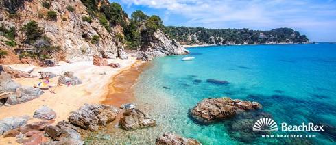 Spain - Comarques gironines -  Tossa de Mar - Beach Cap de Bou