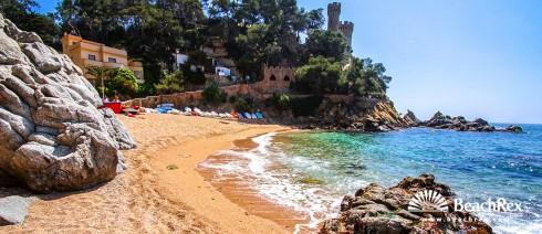Spain - Comarques gironines -  Lloret de Mar - Beach Sa Caleta