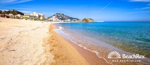 Spain - Comarques gironines -  Blanes - Beach Blanes