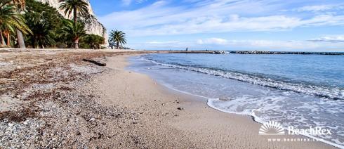 France - AlpesMaritimes -  Beaulieu-sur-Mer - Beach Petite Afrique