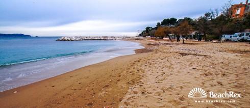 France - Var -  Carqueiranne - Beach Peno