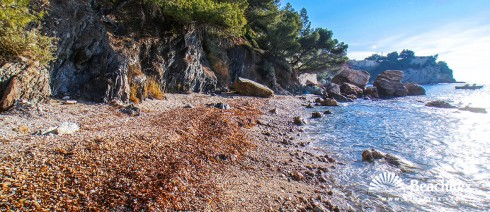 France - Var -  Toulon - Beach de la Batterie Basse