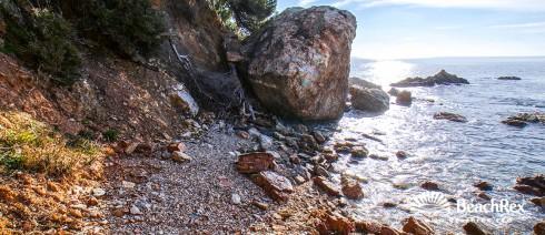 France - Var -  Toulon - Beach du Trelus
