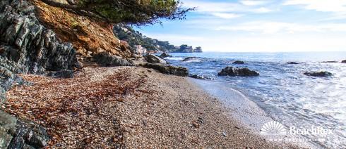 France - Var -  Toulon - Beach de Montzey