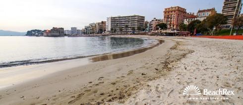 France - Var -  Toulon - Beach du Mourillon