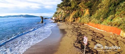 France - Var -  Toulon - Beach de la Mitre