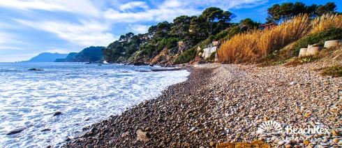 France - Var -  Saint-Mandrier-sur-Mer - Beach de Grave